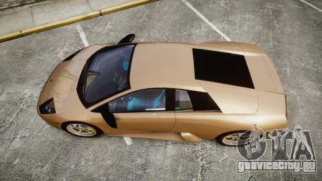 Lamborghini Murcielago 2005 для GTA 4 вид справа