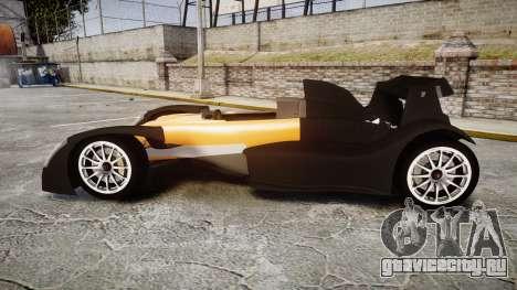 Caparo T1 для GTA 4 вид слева
