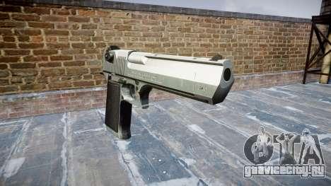 Пистолет IMI Desert Eagle Mk XIX Chrome для GTA 4
