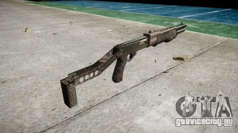 Ружьё Franchi SPAS-12 Kryptek Typhon для GTA 4 второй скриншот