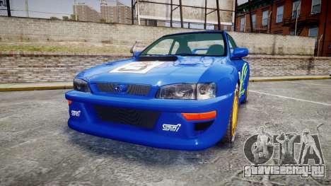 Subaru Impreza WRC 1998 World Rally для GTA 4