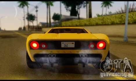GTA 5 Bullet для GTA San Andreas вид справа