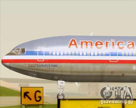 McDonnell Douglas DC-10-30 American Airlines для GTA San Andreas
