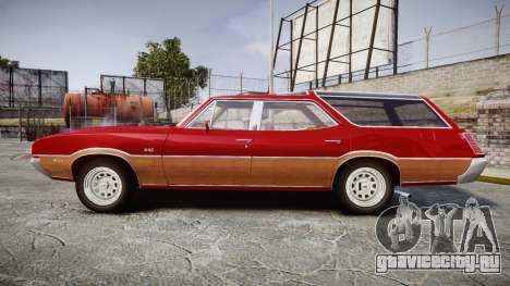 Oldsmobile Vista Cruiser 1972 Rims1 Tree2 для GTA 4 вид слева