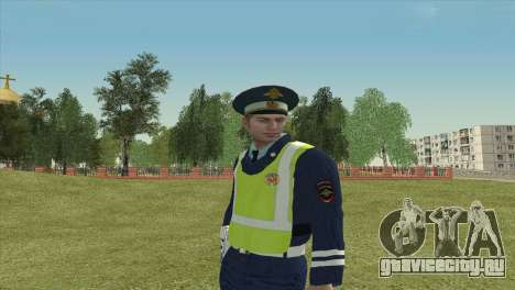 Младший инспектор ДПС для GTA San Andreas третий скриншот