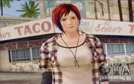 Mila 2Wave from Dead or Alive v9 для GTA San Andreas третий скриншот
