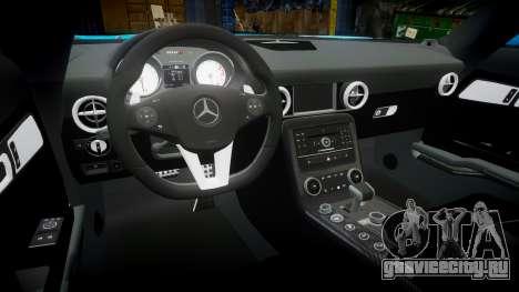 Mercedes-Benz SLS AMG v3.0 [EPM] Kotori Minami для GTA 4 вид изнутри