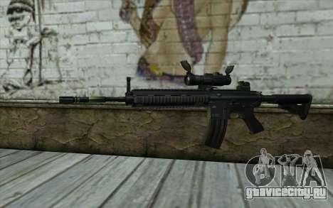HK416 (Bump mapping) v2 для GTA San Andreas