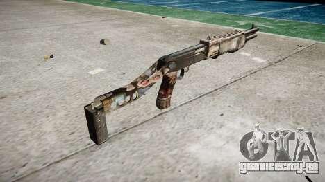 Ружьё Franchi SPAS-12 Zombies для GTA 4 второй скриншот