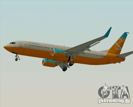 Boeing 737-800 Orbit Airlines для GTA San Andreas вид сбоку