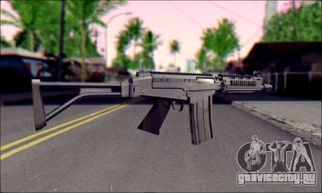 FN FAL from ArmA 2 для GTA San Andreas третий скриншот