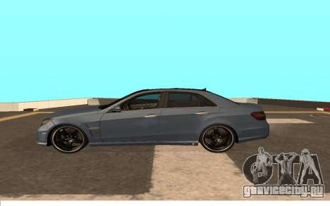 Mercedes-Benz W212 (Wheeljack from TF 3) для GTA San Andreas вид слева