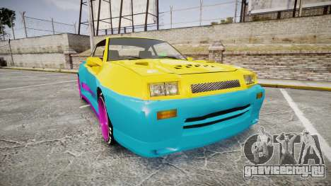 Opel Manta B GTE для GTA 4