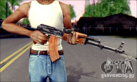 АКМc from ArmA 2 для GTA San Andreas третий скриншот