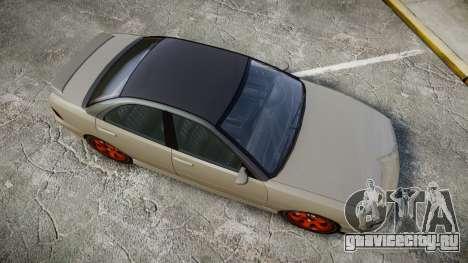 Dinka Chavos Custom для GTA 4 вид справа