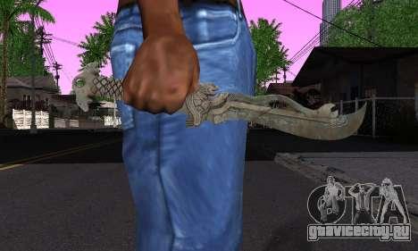 Тот самый клинок (FarCry 3) для GTA San Andreas третий скриншот