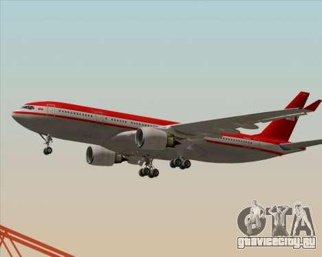 Airbus A330-200 LTU International для GTA San Andreas вид сбоку