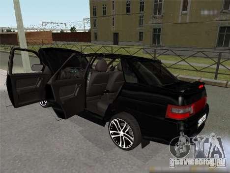 Ваз 2110 XN для GTA San Andreas вид сзади слева
