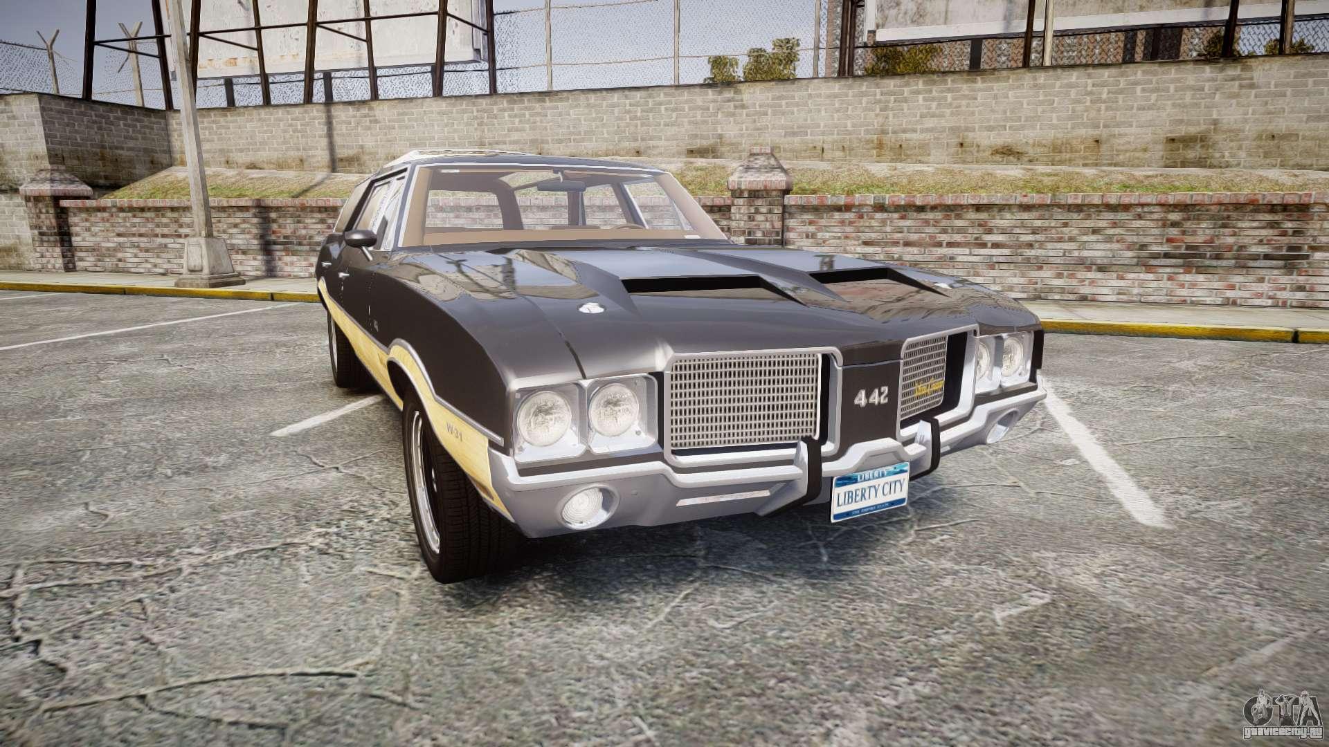 Oldsmobile vista cruiser 1972 rims1 tree1 для gta 4