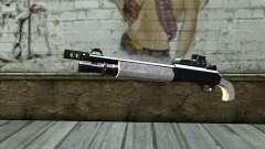 Silver Shotgun для GTA San Andreas