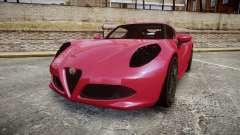 Alfa Romeo 4C для GTA 4