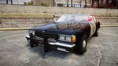 Chevrolet Caprice 1986 Brougham Police [ELS] для GTA 4