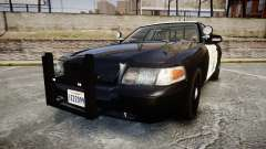 Ford Crown Victoria CHP CVPI Slicktop [ELS] для GTA 4