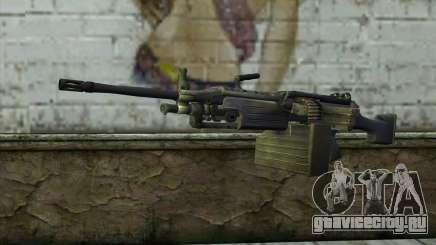 FN M249E2 SAW from SoF: Payback для GTA San Andreas