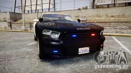 GTA V Bravado Buffalo LS Police [ELS] Slicktop для GTA 4