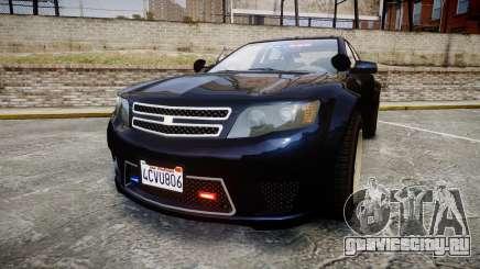GTA V Cheval Fugitive Unmarked [ELS] Slicktop для GTA 4