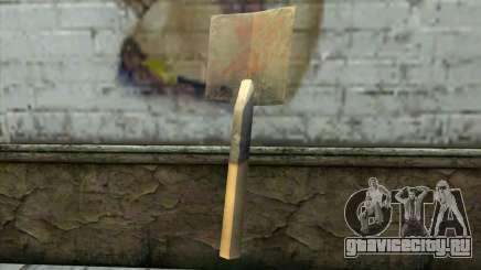 Немецкая лопата для GTA San Andreas