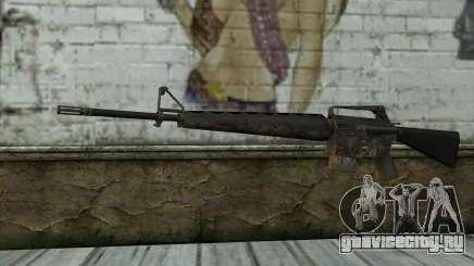 M16A1 from Battlefield: Vietnam для GTA San Andreas