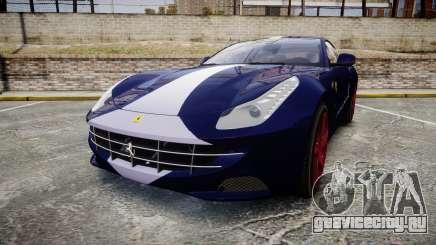 Ferrari FF 2012 Pininfarina Blue для GTA 4