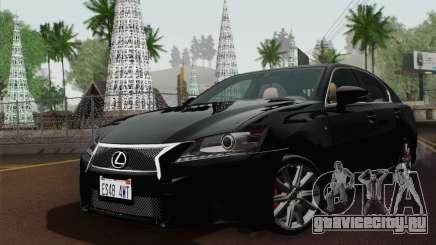 Lexus GS350 F Sport 2013 для GTA San Andreas