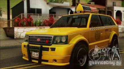 VAPID Huntley Taxi (Saints Row 4 Style) для GTA San Andreas
