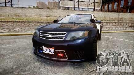 GTA V Cheval Fugitive LS Police [ELS] Slicktop для GTA 4