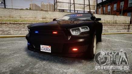GTA V Bravado Buffalo Unmarked [ELS] Slicktop для GTA 4