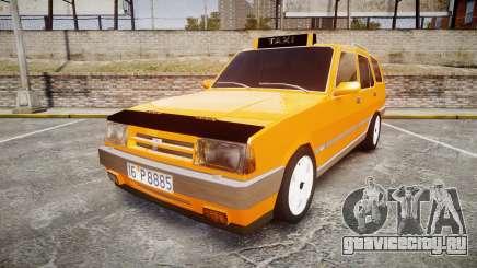 Tofas Kartal SLX Taxi для GTA 4