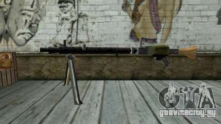 MG-34 from Day of Defeat для GTA San Andreas