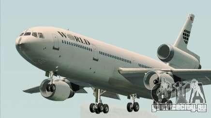 McDonnell Douglas DC-10-30 World Airways для GTA San Andreas