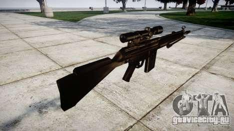 Винтовка G3SG1 для GTA 4 второй скриншот