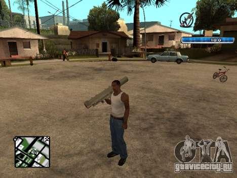 C-HUD by SampHack v.17 для GTA San Andreas