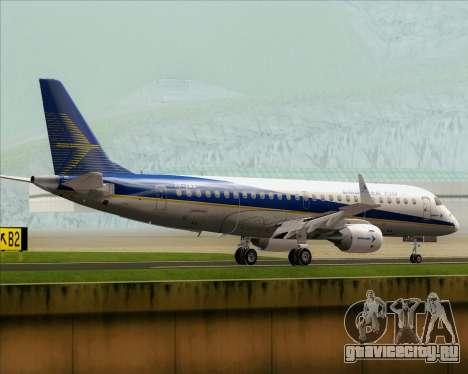 Embraer E-190-200LR House Livery для GTA San Andreas вид справа