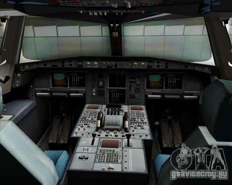 Airbus A380-800 Sichuan Airlines для GTA San Andreas салон