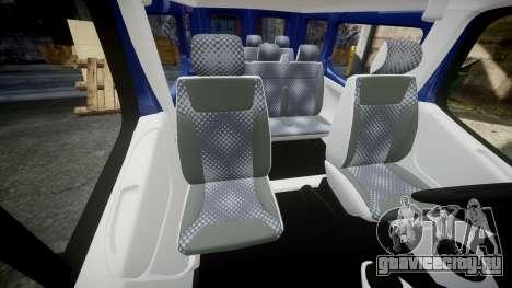 Renault Trafic Passenger для GTA 4 вид изнутри