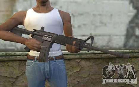 M4 from Sniper Воин-Призрак для GTA San Andreas третий скриншот