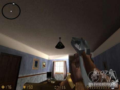 Counter-Strike HUD для GTA San Andreas четвёртый скриншот