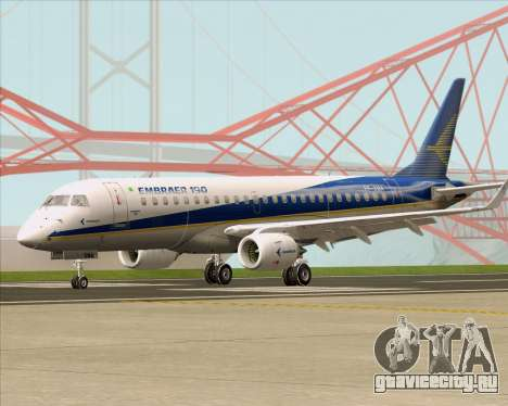 Embraer E-190-200LR House Livery для GTA San Andreas вид слева