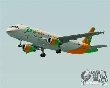 Airbus A320-200 Zest Air для GTA San Andreas вид справа