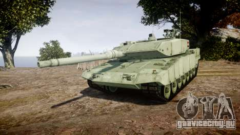 Leopard 2A7 AT Green для GTA 4